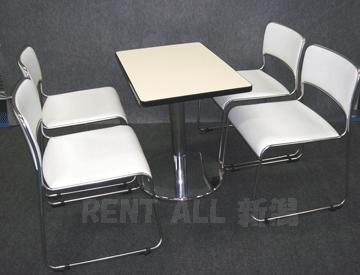 750×500テーブルを使った商談セット