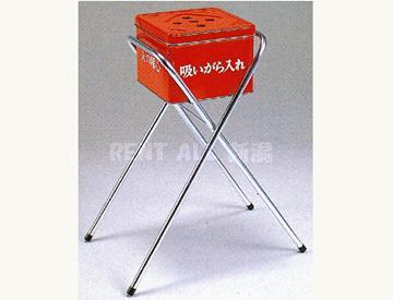 スタンド灰皿(赤缶)